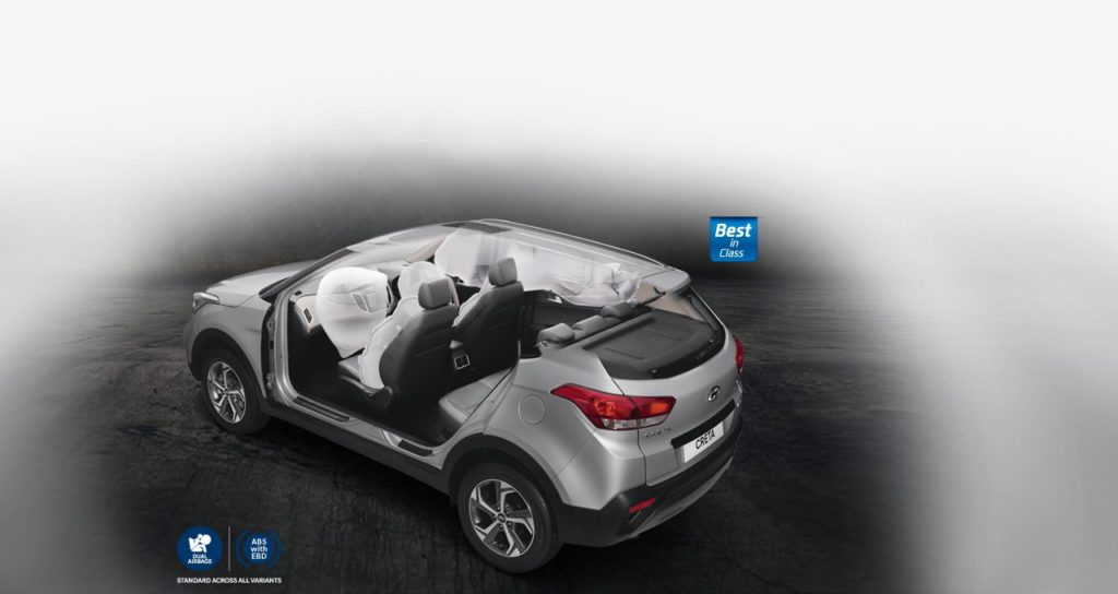 safety features of Hyundai Creta - airbags