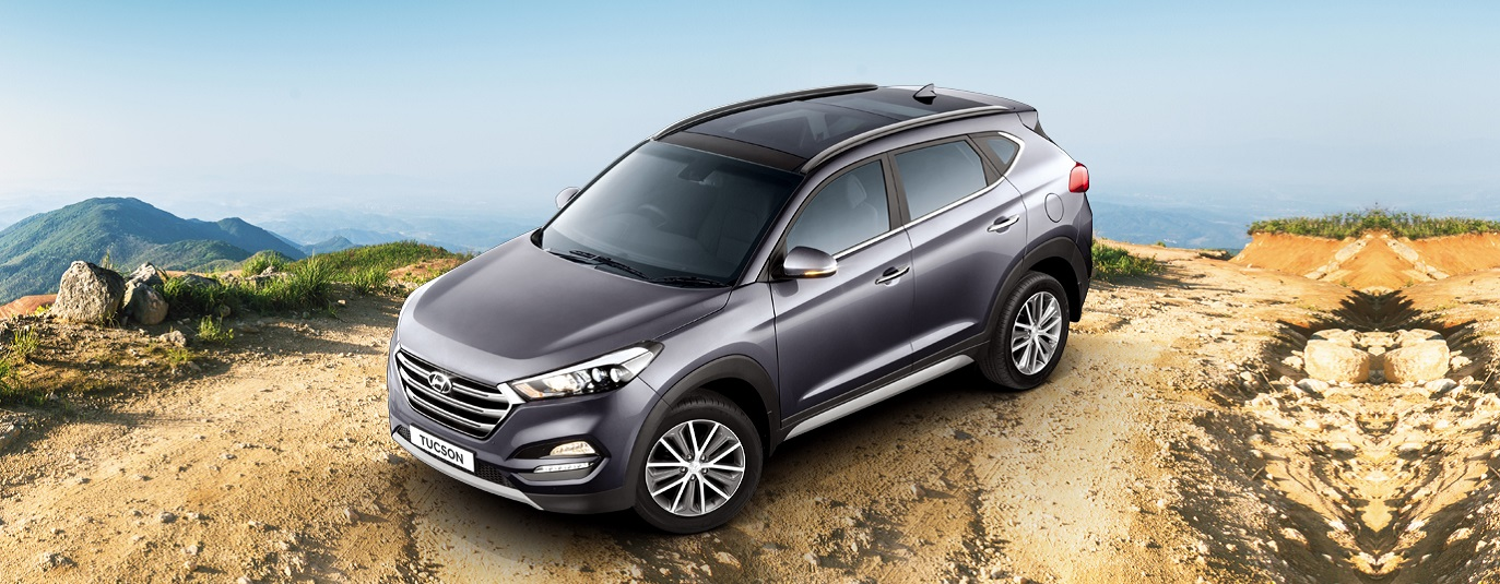 hyundai tucson on road price noida