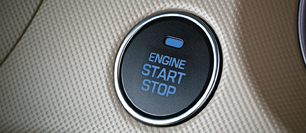 Engine push button start/stop